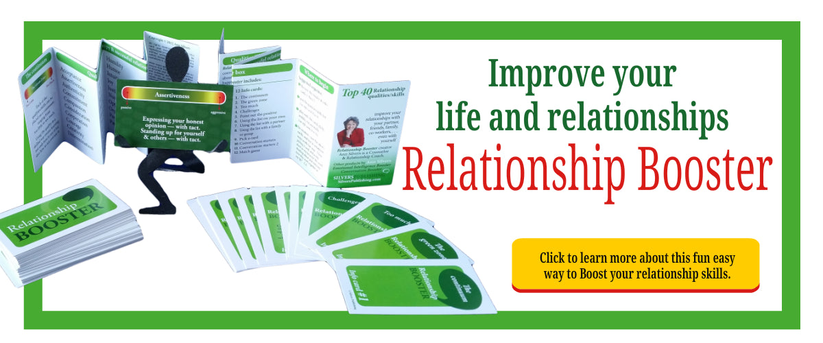 Relationship Booster card set to improve relationship skills