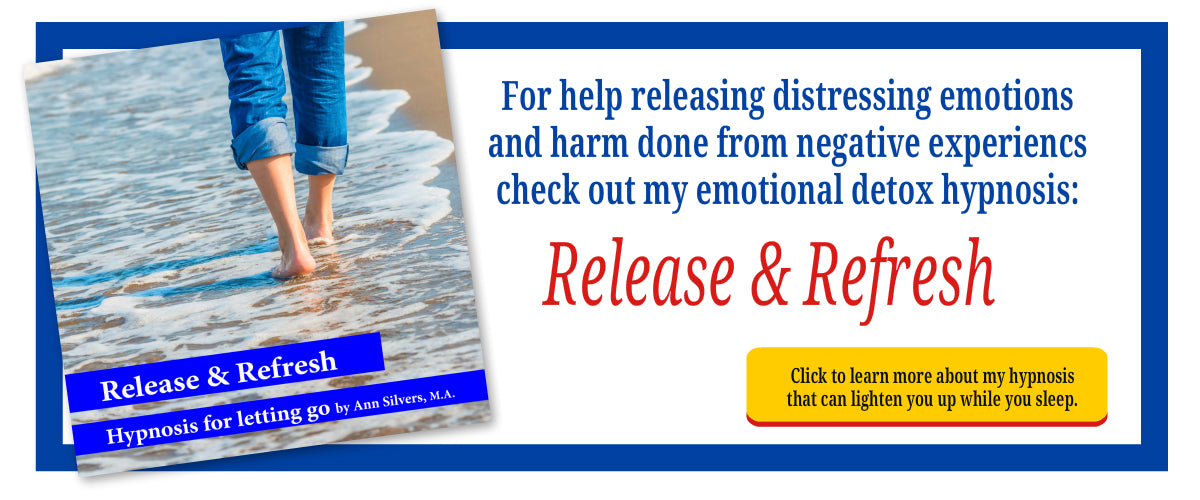 Release and Refresh Emotional Detox Hypnosis downloadable mp3 recording