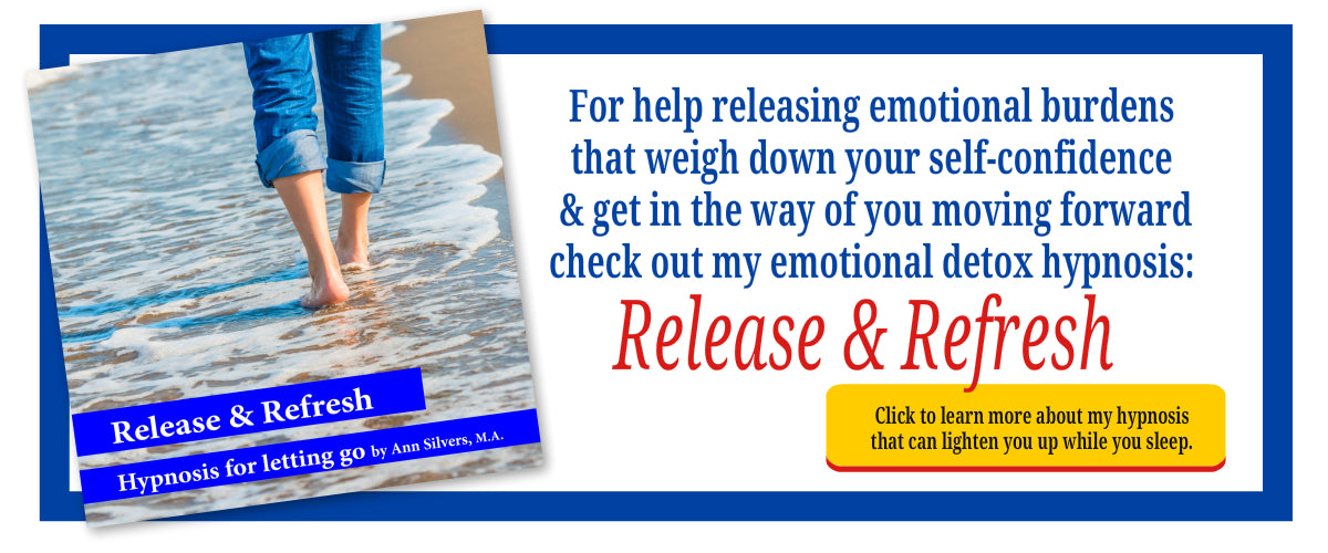 Release and Refresh Emotional Detox Hypnosis, meditation for challenging times