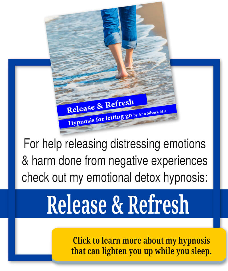 release and refresh hypnosis, anti-anxiety anti-depression hypnosis recording
