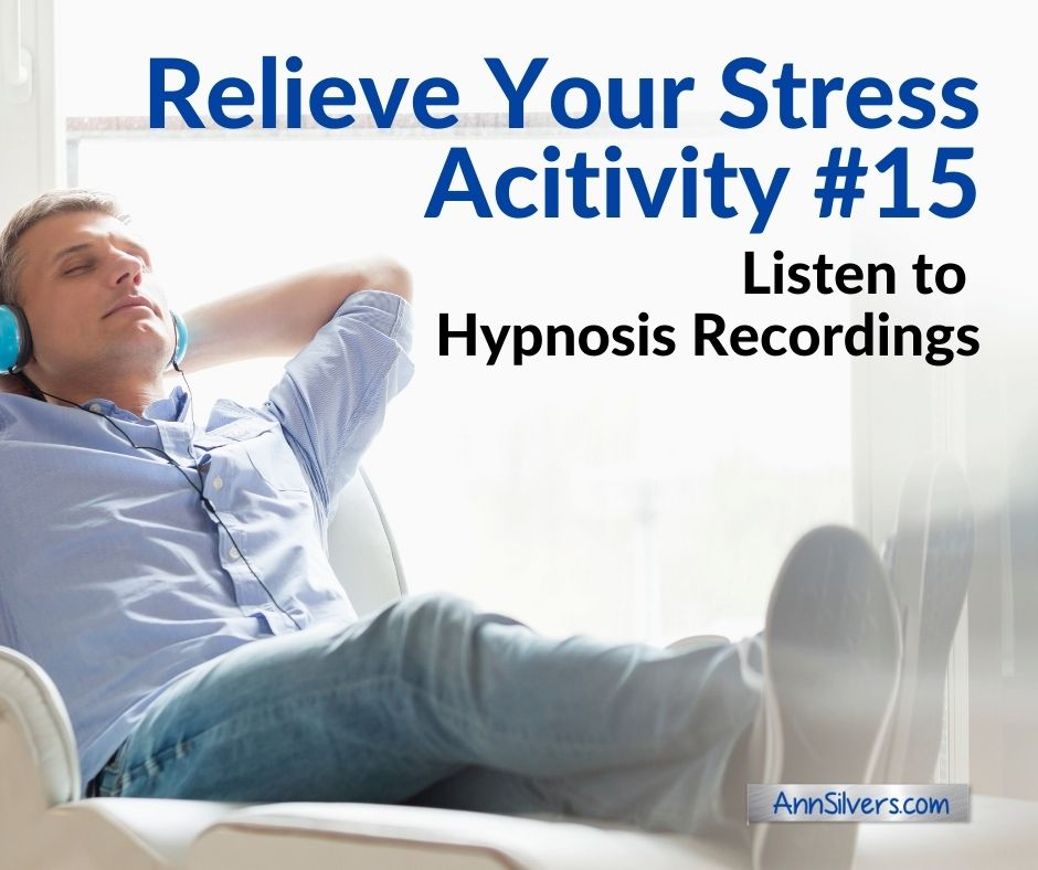 Ways to manage and reduce stress, hypnosis or hypnotherapy downloadable recordings