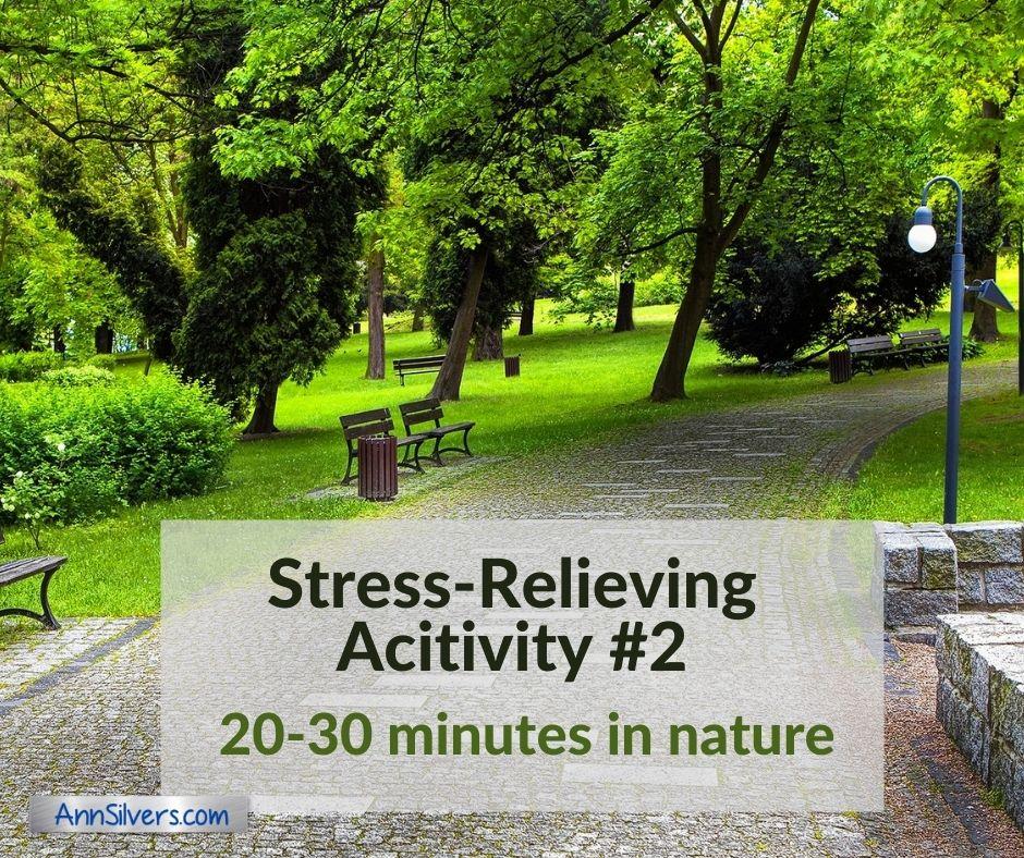 a good way to reduce stress is to spend time in nature