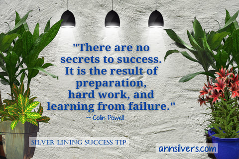 daily short positive inspirational motivational quotes and sayings about success. Colin Powell success quote