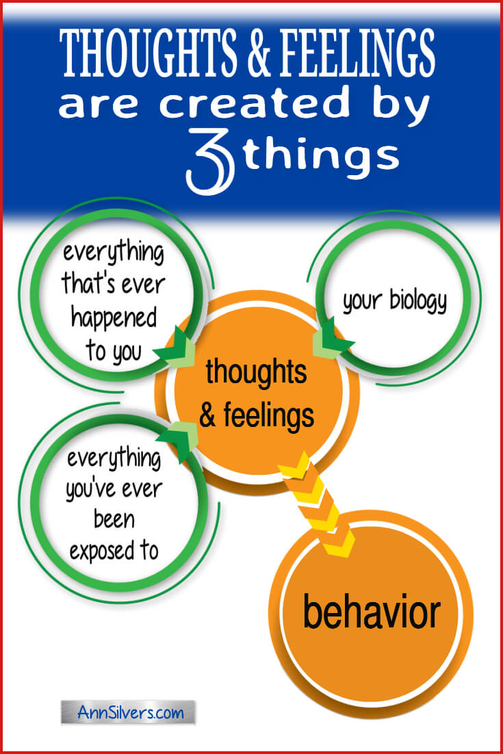 Thoughts and feelings are created by 3 things. Why women abuse men. Why people do what they do