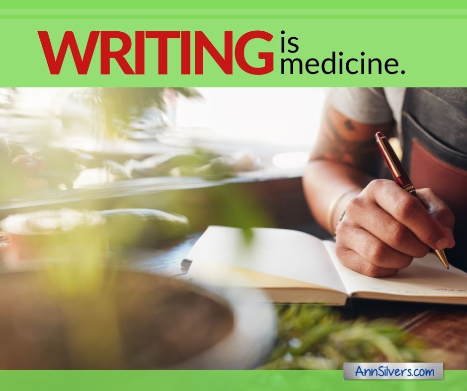 Writing is medicine, physical benefits of journaling