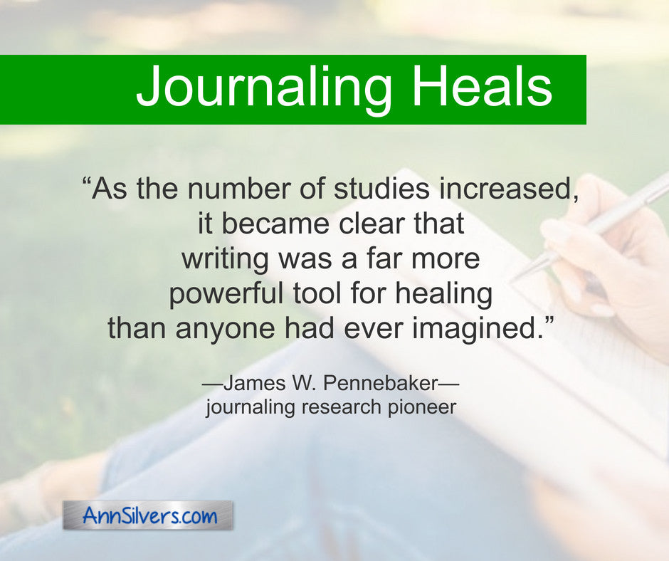 As the number of studies increased, it became clear that writing was a far more powerful tool for healing than anyone had ever imagined. James W. Pennebaker quote about benefits of journaling