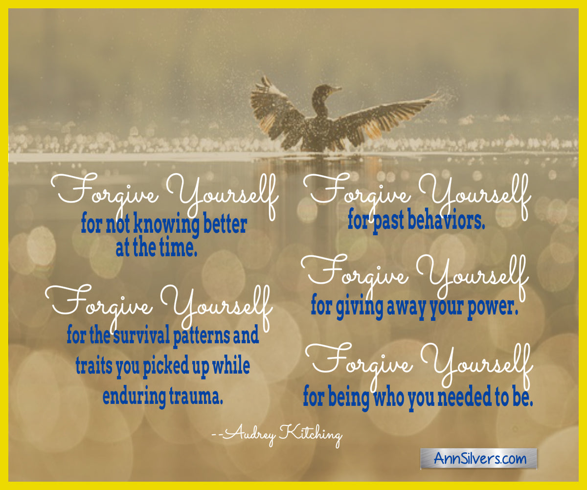 Self forgiveness quotes and tips, forgive yourself quotes and tips,