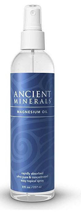 Ancient Minerals Magnesium Oil Spray Bottle, Insomnia relief treatment