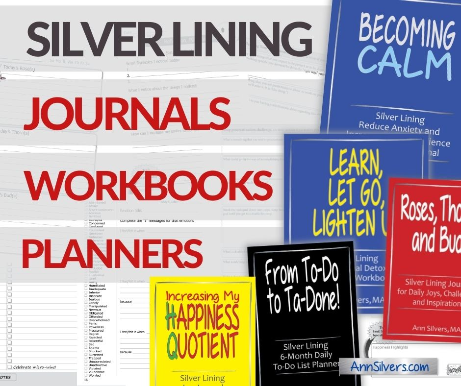 Journaling Help: Silver Lining Journals, Workbooks, and Planners