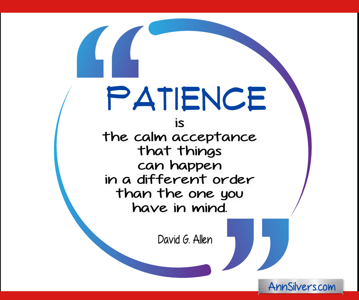 patience calm acceptance quote