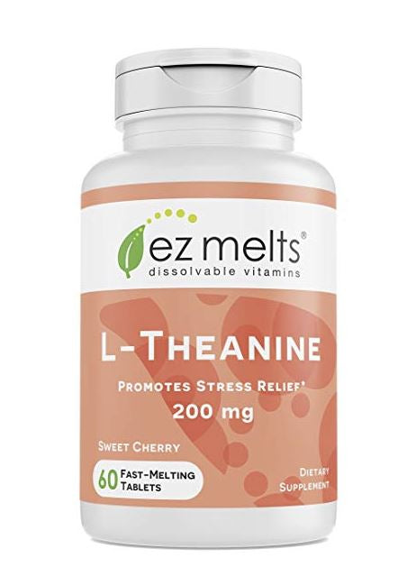 L-theanine chewables, Supplements for Insomnia and Sleep Disorders