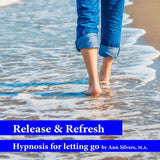 release and refresh hypnosis, anti-anxiety anti-depression hypnosis recording, emotional detox