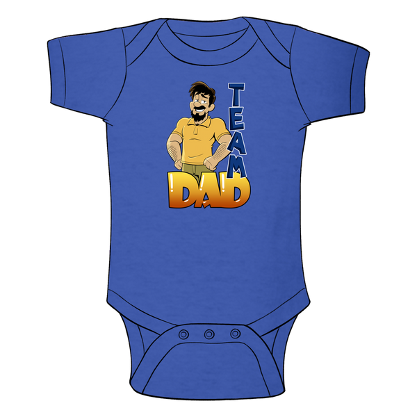 Team Dad Baby Bodysuit