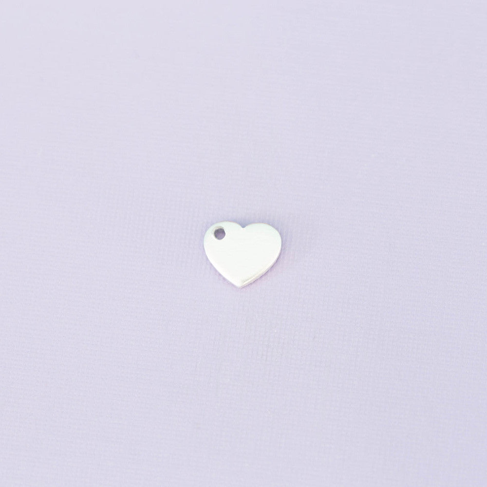 "0.45"" Heart with Hole"