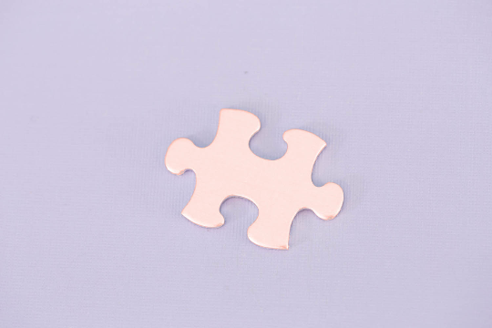 Copper Puzzle Piece