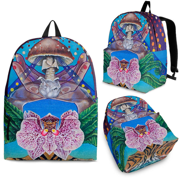 The Mushroom - Vegan Backpack