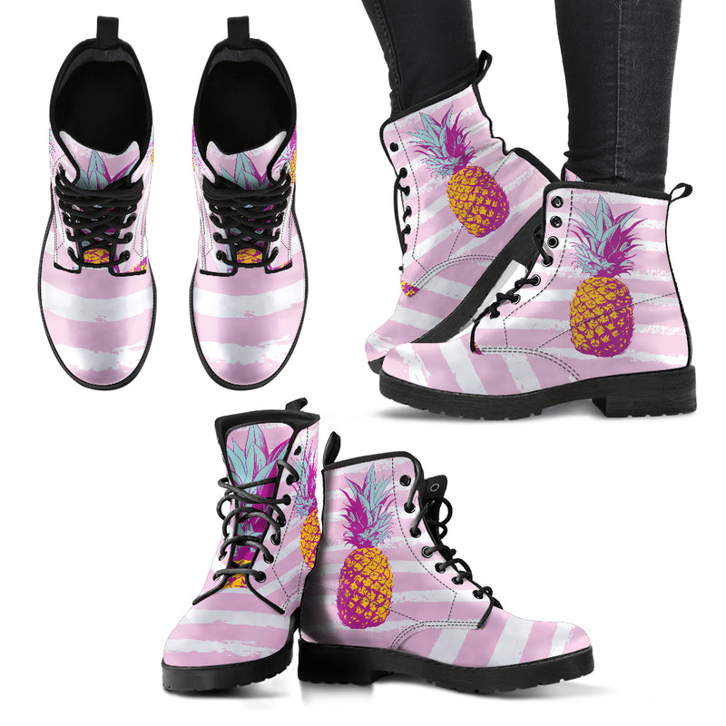 Pineapple Express - Vegan Women's Boots