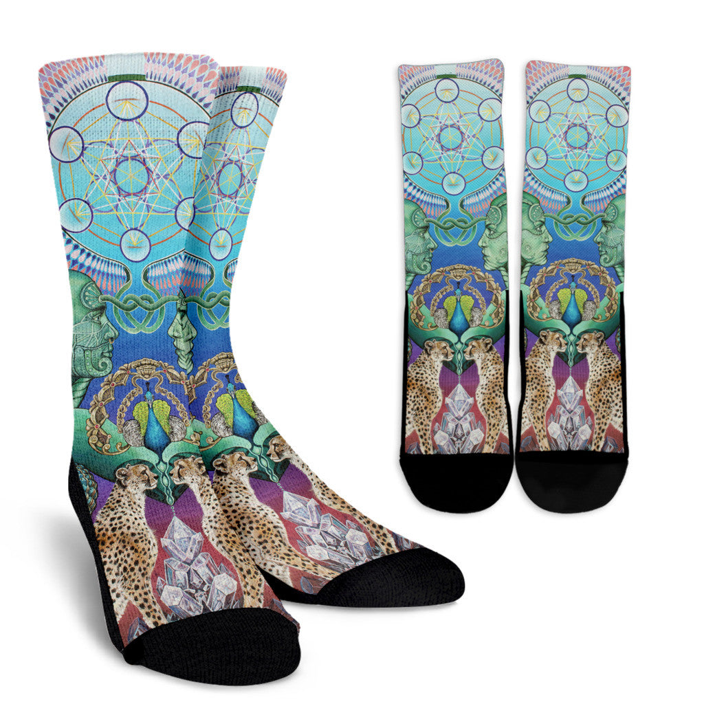 Reflection Reaction II - Vegan Socks