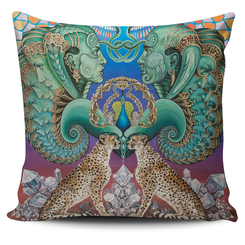 Reflection Reaction - Vegan Pillow Cover