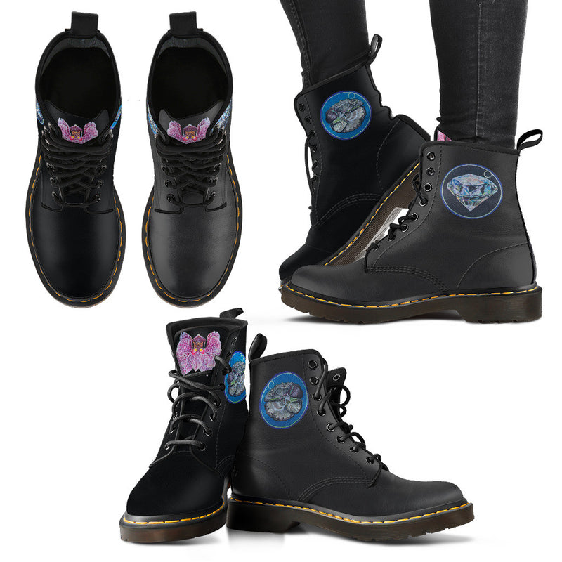 Diamond Gland - Vegan Womens Boots