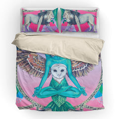 Another World's Soul - Vegan Bedding Set
