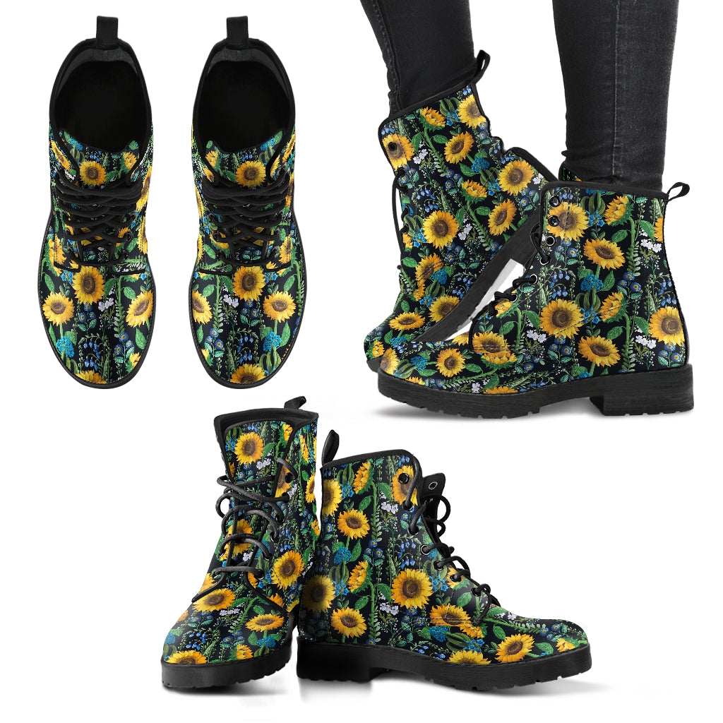 Sunflower & More - Vegan Women's Boots