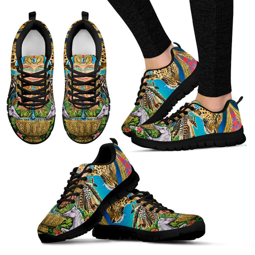 Water of Wisdom - Vegan Women's Sneakers