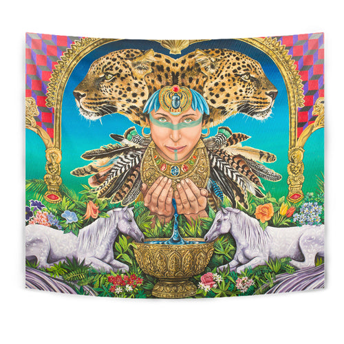 Water Of Wisdom - Wall Tapestry