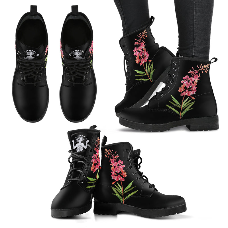 Botanical Willow-nerb - Vegan Women's Boots