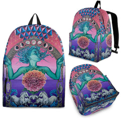 The Gate Of Knowledge - Vegan Backpack