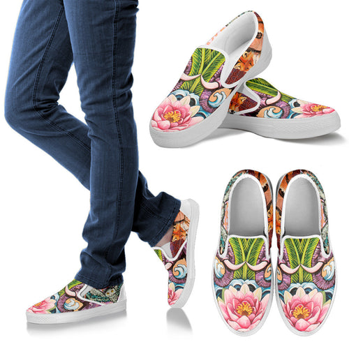 The Lotus - Women's Slip Ons
