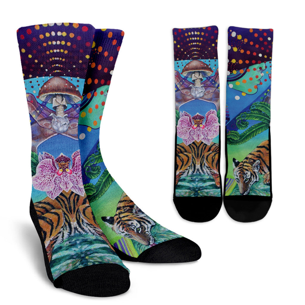 The Mushroom - Vegan Socks