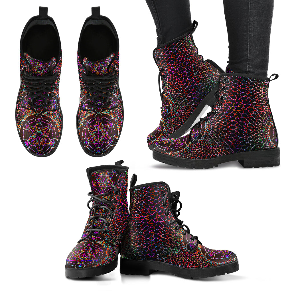 Electric Metatron - Vegan Women's Boots