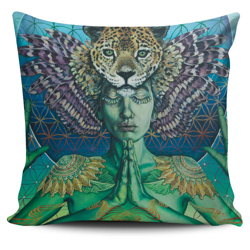 Self Portrait - Vegan Pillow Cover