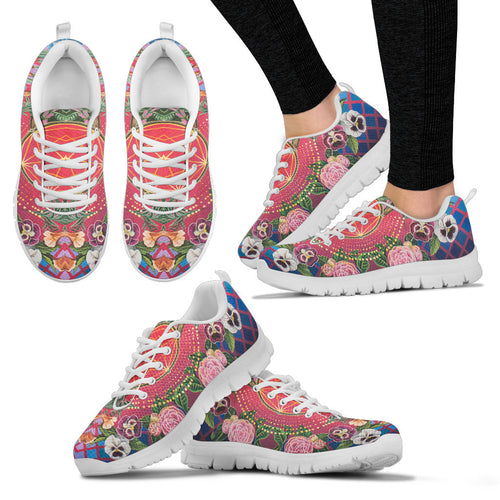 Flower Discoveries - Vegan Women's Sneakers