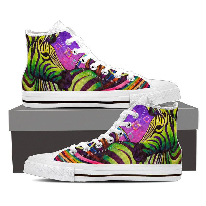 One Spirit - Women's High Top Canvas Shoes