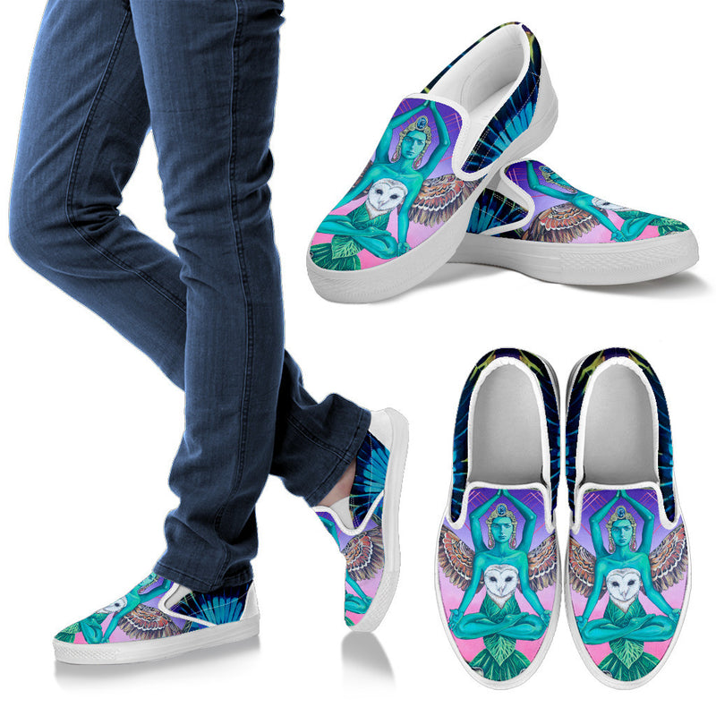 Another Worlds Soul - Women's Slip Ons