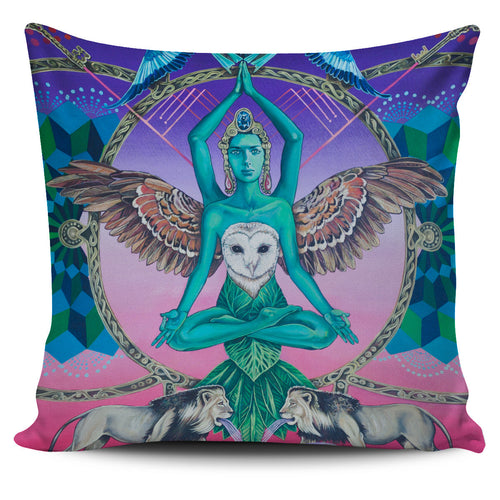 Another World's Soul - Vegan Pillow Cover