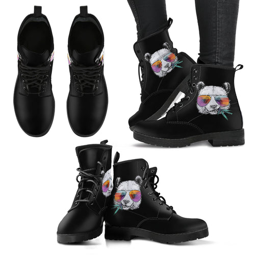 Coolest Panda - VEgan Women's Boots