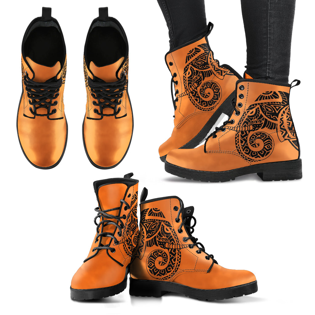 Tribal Totem Women's Leather Boots