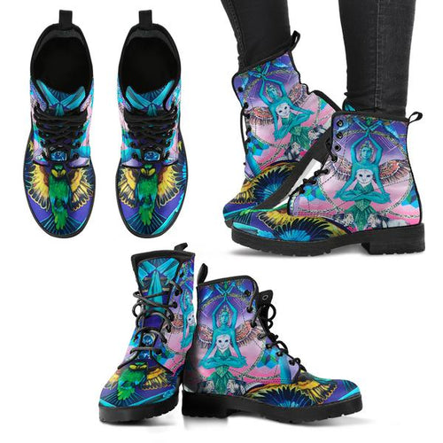 Another World's Soul - Vegan Women's Boots