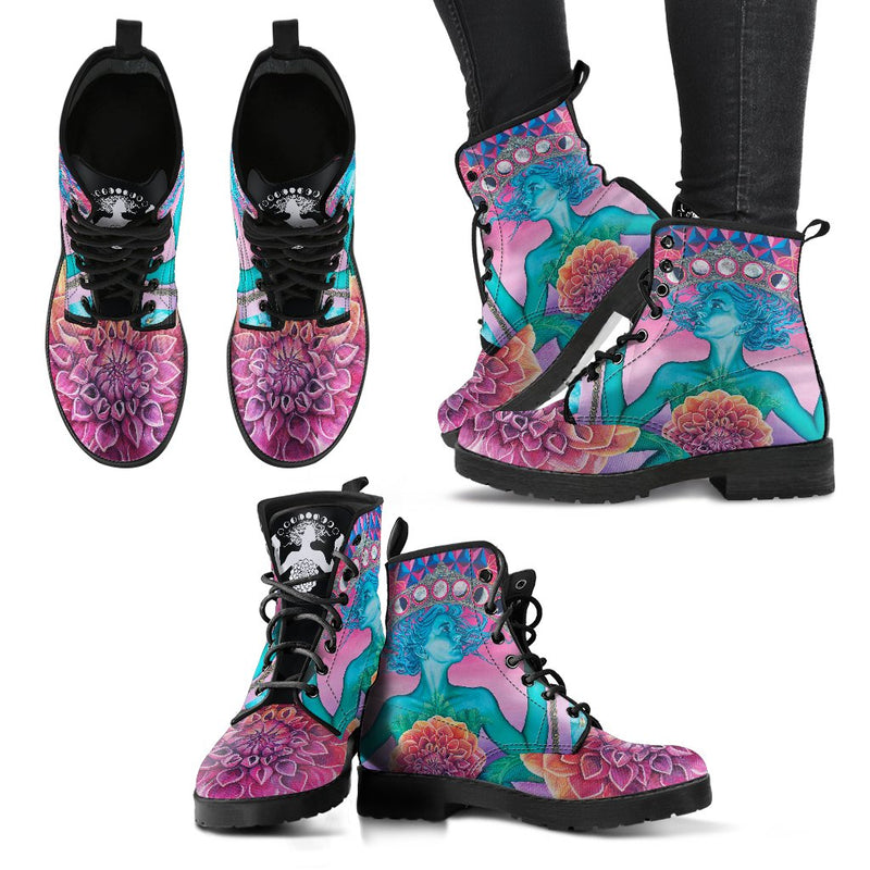 The Gate Of Knowledge - Vegan  Women's Boots