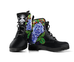 Purple Roses - Vegan Women's Boots