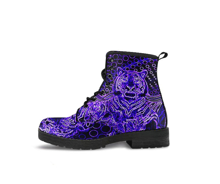 Purple Tigers - Women's Boots