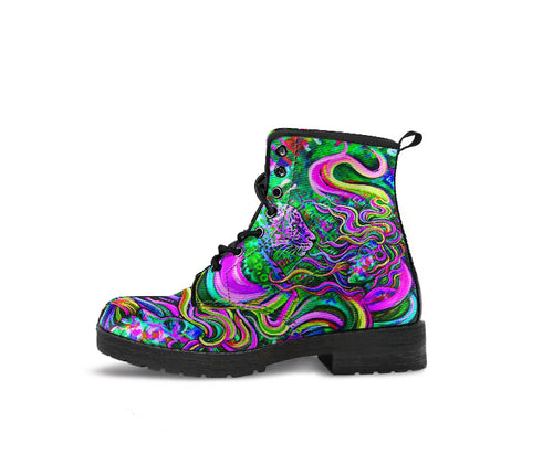 Electric Connection - Vegan Women's Boots