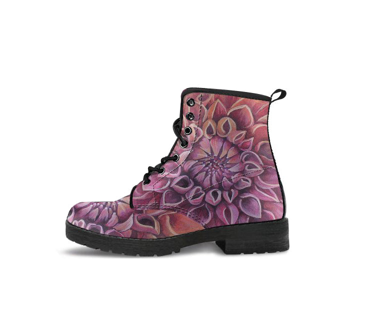 The Flower  - Vegan Women's Boots