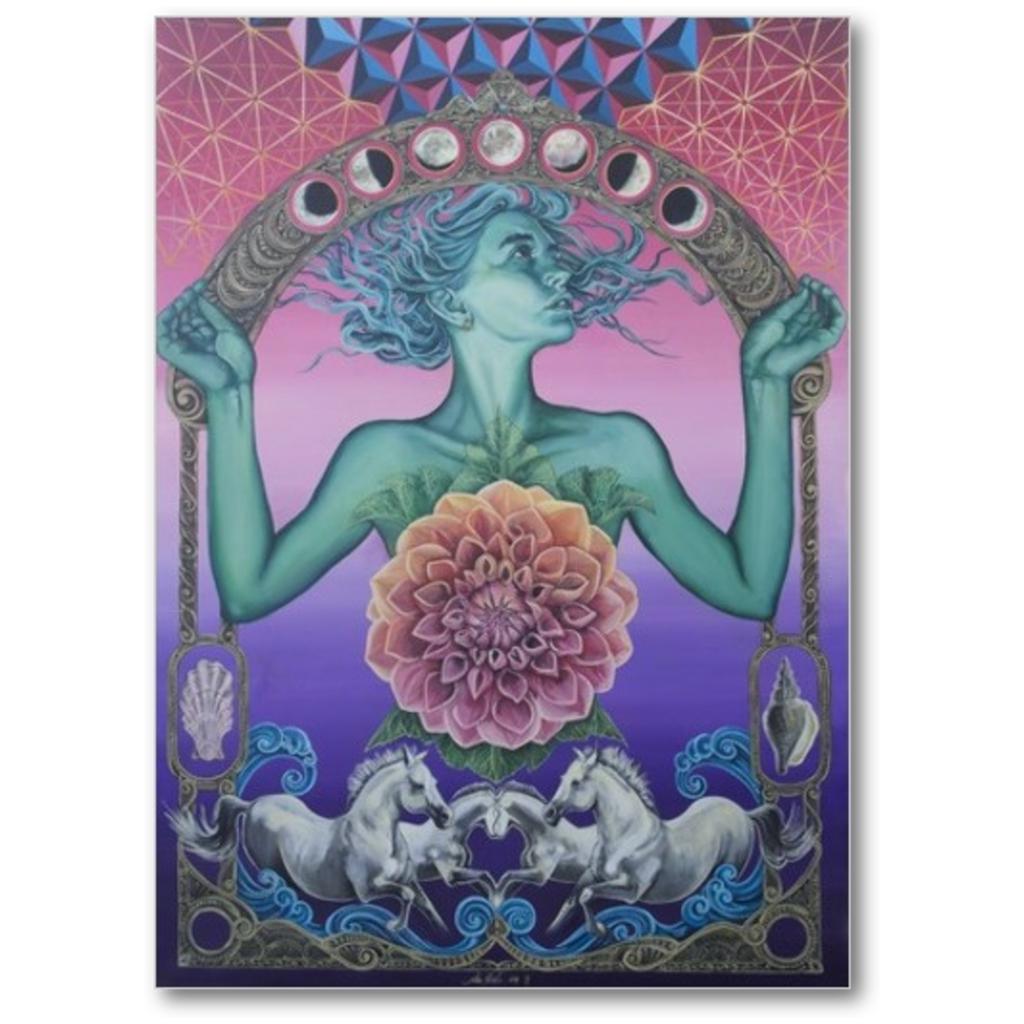 The Gate of Knowledge - Premium Canvas Gallery Wrap Print