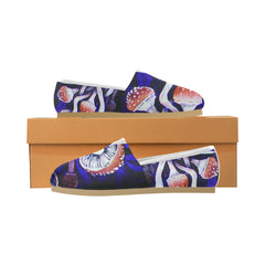 Purple Shrooms -  Casual Women's Shoes