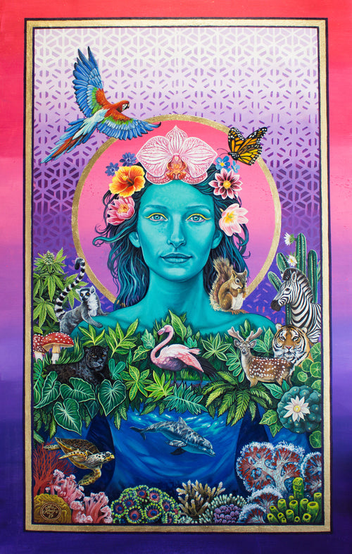 "Mother Earth Vibration - Poster 18""X27"""