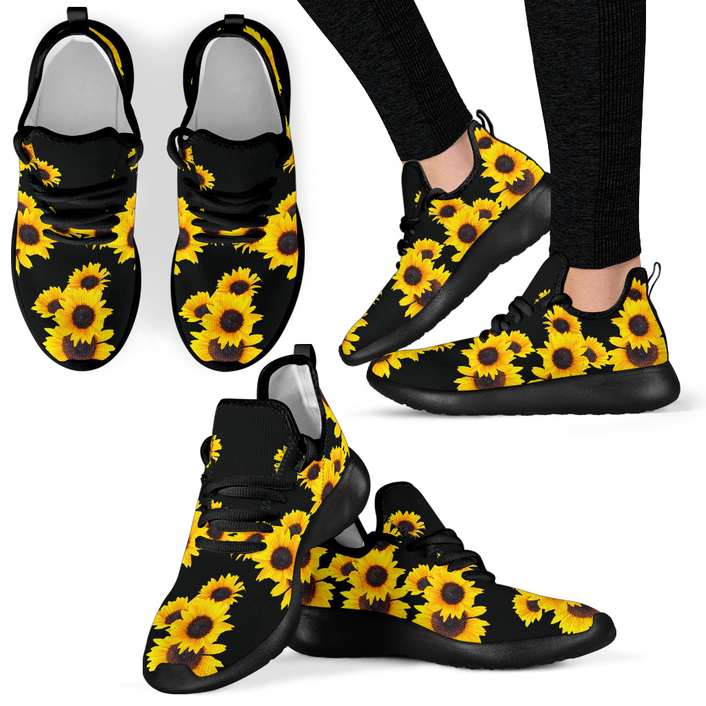 Sunflower Shiny - Women's Knit Sneakers